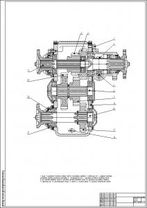 раздат каробка ГАЗ-66 (2)