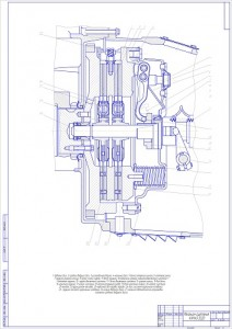 Механизм сцепления КАМАЗ 5320