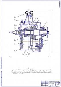 Коробка передач ГАЗ-3307, 3309, 53