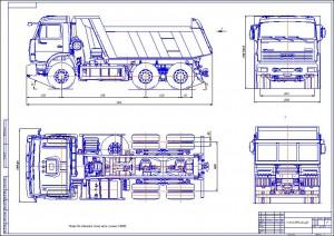 КАМАЗ 65115-044-62 (КОМПАС V12)